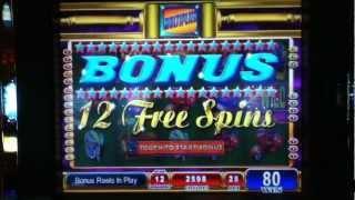 "BIG MONEY SHOW Penny Video Slot Machine with BONUS RETRIGGERED and a ""BIG WIN"" Las Vegas Casino"