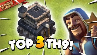 Top 3 Best TH9 Attack Strategies for 2020 (Clash of Clans)