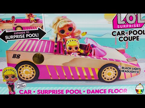 lol-surprise-car-pool-coupe-car-pool,-dance-floor-exclusive-doll!
