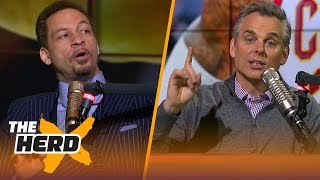 Chris Broussard on Lonzo Ball as the most underrated NBA player, LeBron leaving Cavs | THE HERD