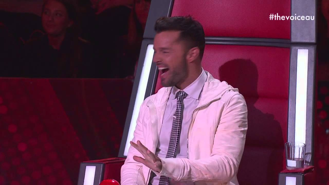 Ricky Feels It   The Voice Australia 2014