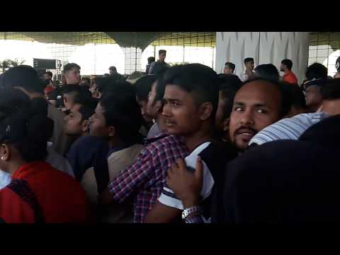 Mumbai airport T2 Republic day  flash mob 2018