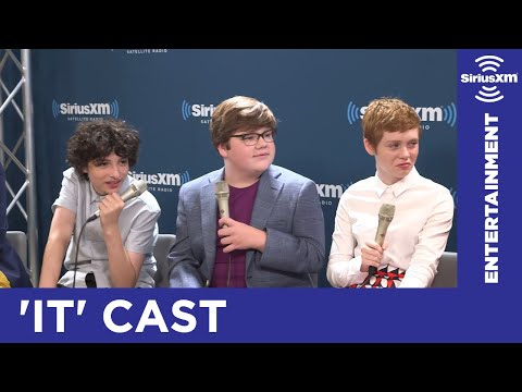 The Cast of It Reveals their Dream Cast // SiriusXM // Entertainment Weekly Radio