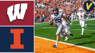 #6 Wisconsin vs Illinois Highlights | Week 8 | College Football Highlights