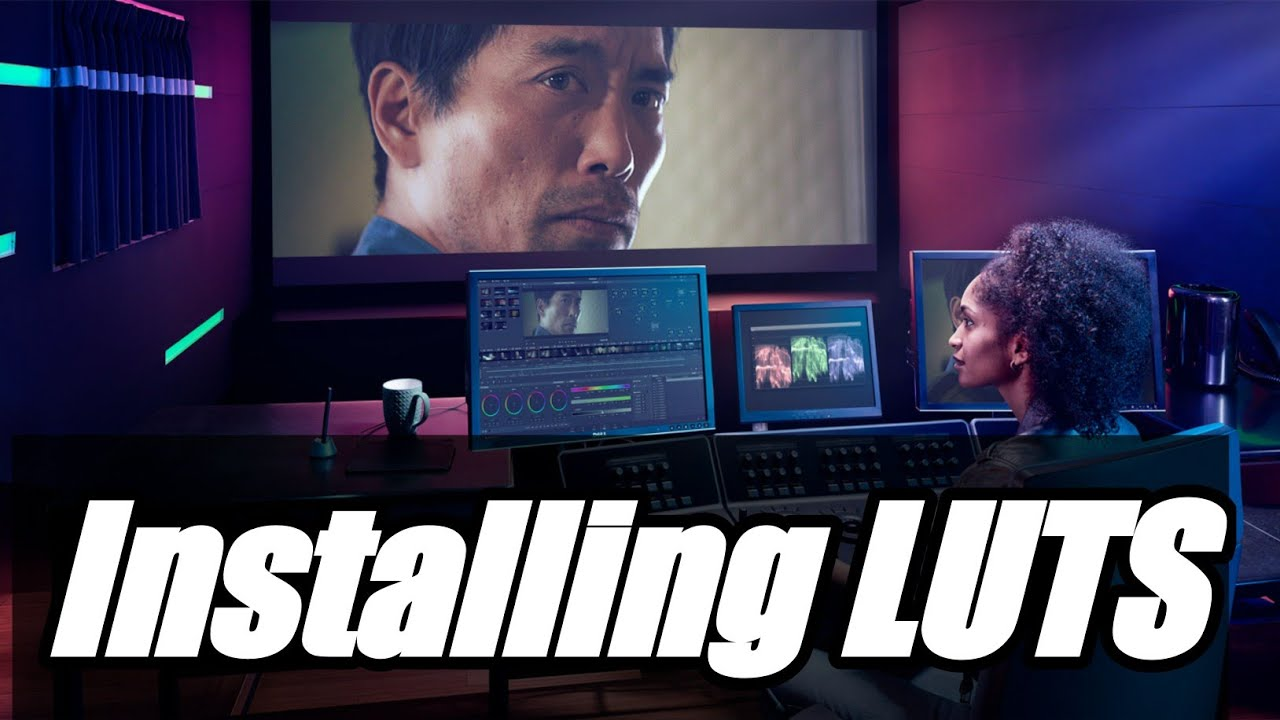 How to download and install LUTS in Davinci Resolve 15