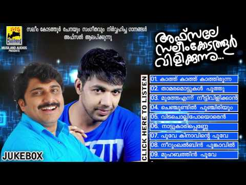 Saleem Kodathoor New Album 2014 | Afsale Saleem Kodathoor Vilikkunnu | Audio Jukebox Afsal Hits