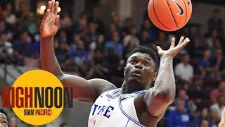 How is Zion Williamson's reputation impacted by alleged demands from Kansas? | High Noon