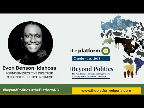 The Platform October 2018 -  Evon Benson Idahosa
