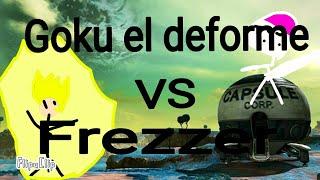 Goku el deforme vs Frezzer | mi primera animación stickman | flipaclip