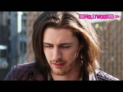 Hozier Greets Fans & Signs Autographs At Jimmy Kimmel Live! 5.19.15 - TheHollywoodFix.com