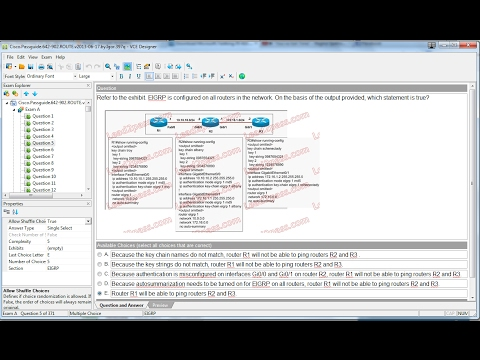 How To Make (.vce) File By Using VCE Designer  For Practice Multiple Choice Questions(MCQ)