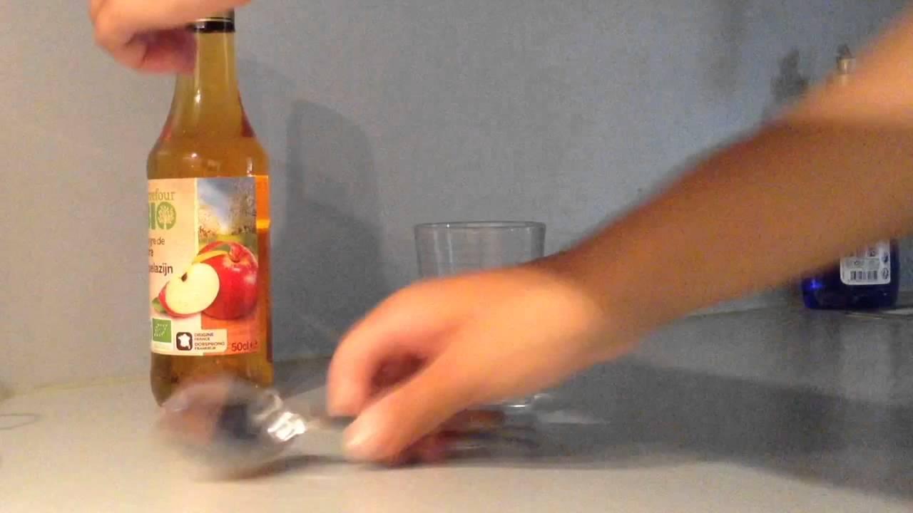 Vinaigre de cidre miel eau pousse cheveux