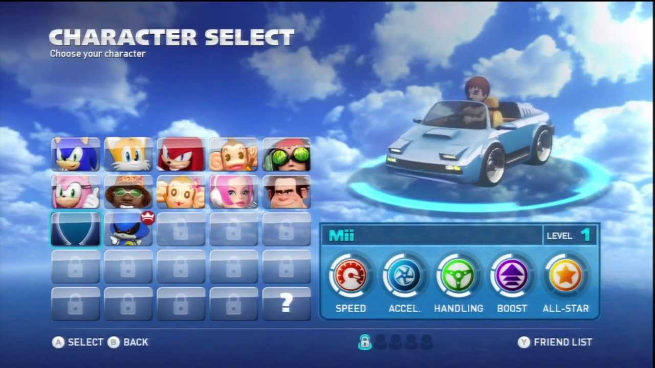 Sonic Racing Cars On Youtube