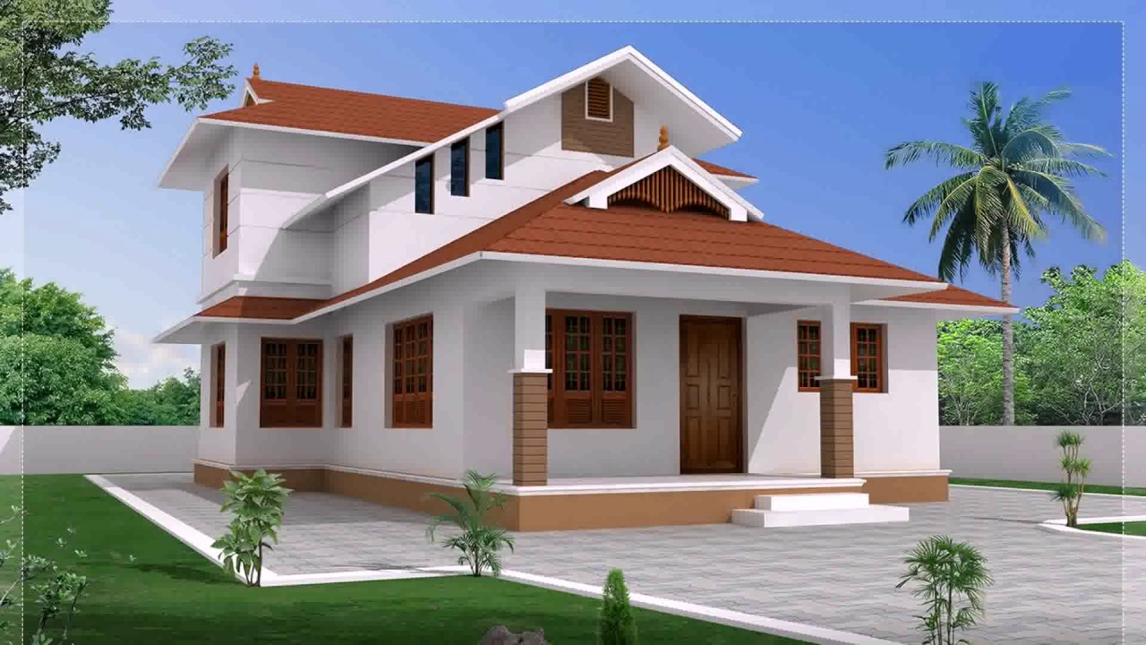 Box type house design in sri lanka youtube for Simple village house design picture