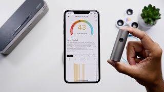 Atmotube: Portable Air Quality Tracker!
