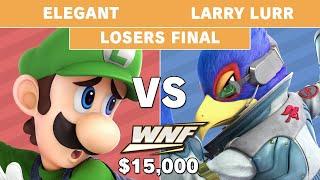 WNF 2.6 $15K - Larry Lurr (Falco) vs Elegant (Luigi) - Losers Final - Smash Ultimate