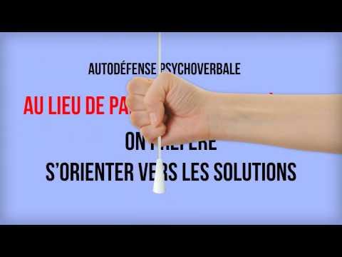 Pourquoi suivre un cours d'autodéfense psychoverbale