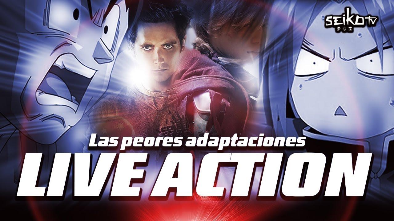 Download Las PEORES ADAPTACIONES LIVE ACTION de ANIME | NO las veas NUNCA!