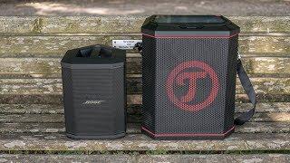 Bose S1 Pro & Teufel Rockster Air - outdoor soundcheck