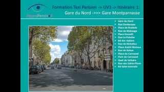 Exemple Itinéraires - UV3 - Permis de Taxi Parisien
