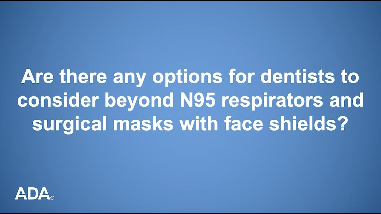 What Other Personal Protective Equipment Options Are Available to Dentists?