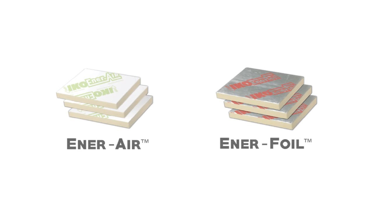 Fasteners to attach Ener-Air™ and Enerfoil™ from IKO by Rodenhouse Inc.