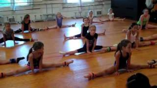 Contortion Clinic Day 3 Jersey Cape Dance and Gymnastics Aca