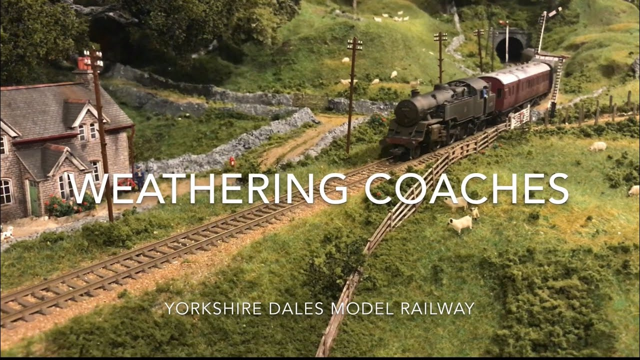 Weathering Model Railway Coaches