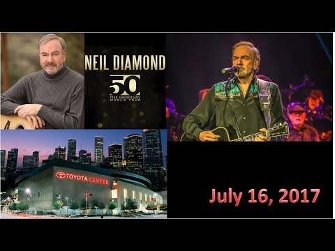 Neil Diamond 50th Anniversary Concert  Houston, Texas