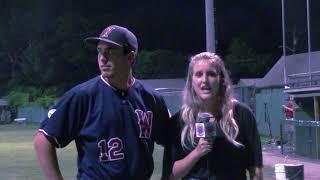 Gatemen Baseball Network Postgame: Wareham Gatemen vs. Hyannis Harbor Hawks (7/29/18)
