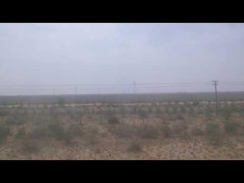 Wind turbines in Inner Mongolia, China