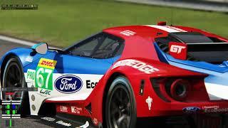 OAP Sim Racing - Ford GT GTE URD Mod at Monza