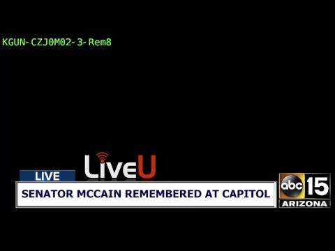 LIVE COVERAGE: Senator John McCain's memorial at Arizona Capitol