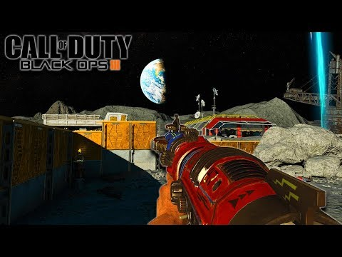 """""""MOON"""" BLOWING UP THE EARTH EASTER EGG! (Call of Duty Black Ops 3 Zombies)"""