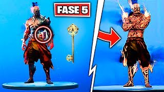 NEW PHASE 5 OF THE PRISONER SKIN in FORTNITE NEVADA'S LAST SECRET KEY