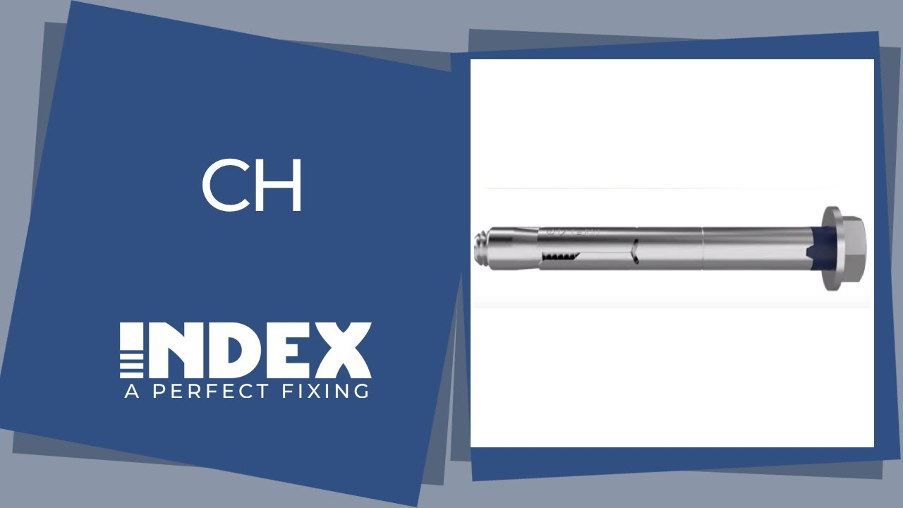 di/ámetro de 14 mm M10 x 70 /Ø14 Anclaje antigiro para cargas altas CH-GA Set de 50 Piezas INDEX Fixing Systems ACHG14C Gancho 70 mm