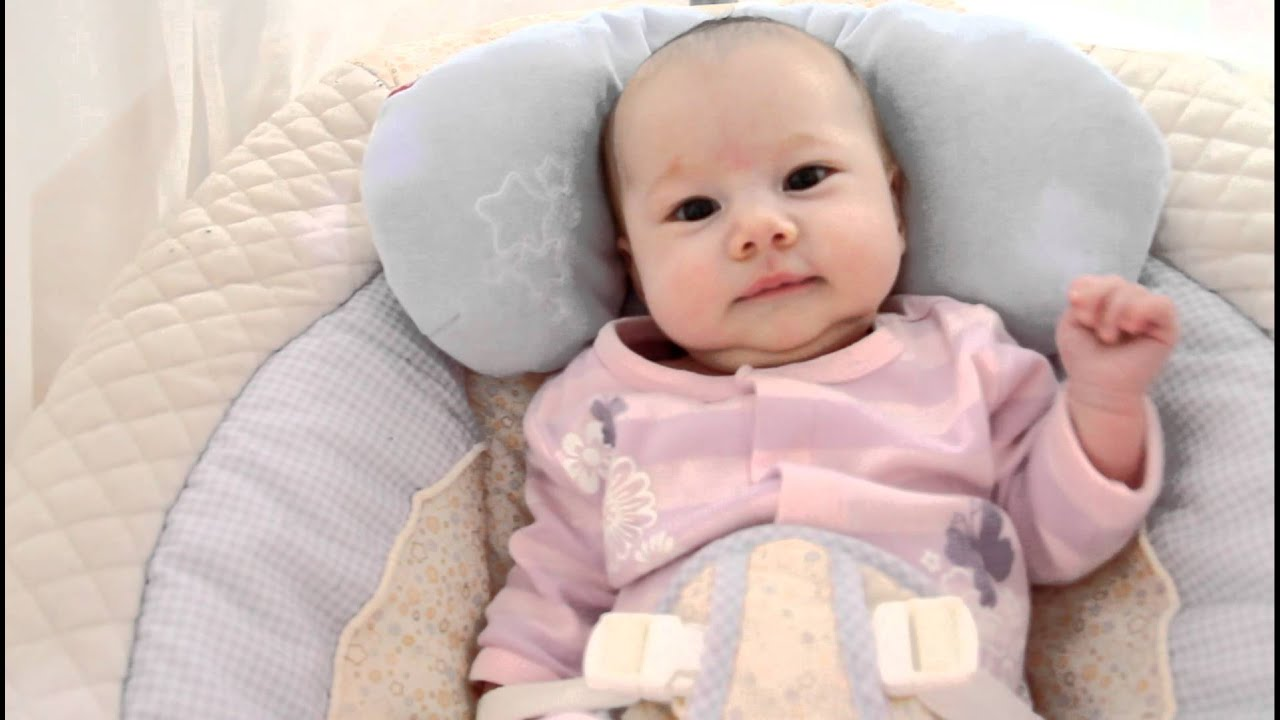 Baby Ella (Two Months Old!) - YouTube
