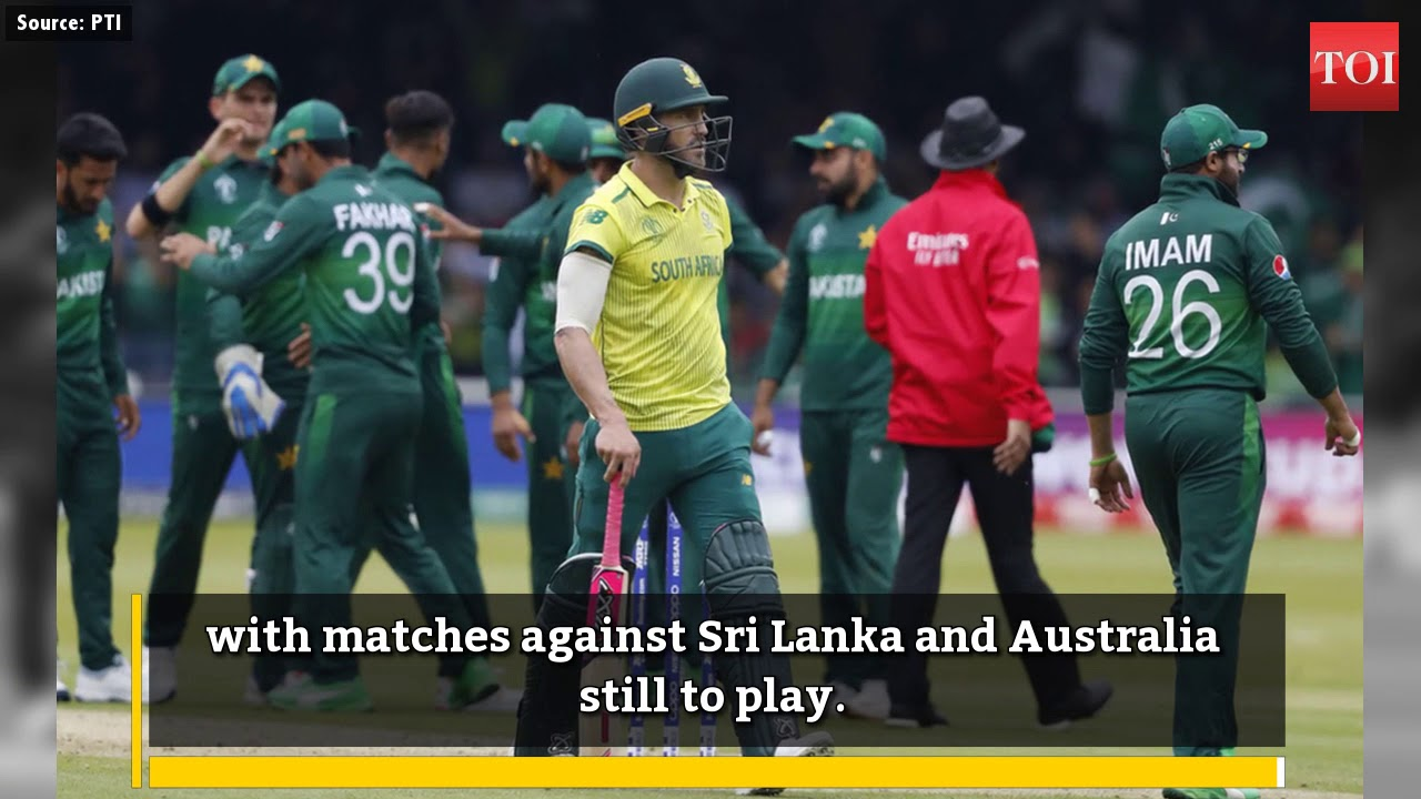 Pakistan vs South Africa, ICC World Cup 2019: Pakistan condemn woeful South Africa to World Cup exit