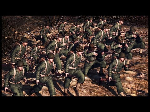 KOREAN WAR HILL BATTLE! RobZ Realism Mod