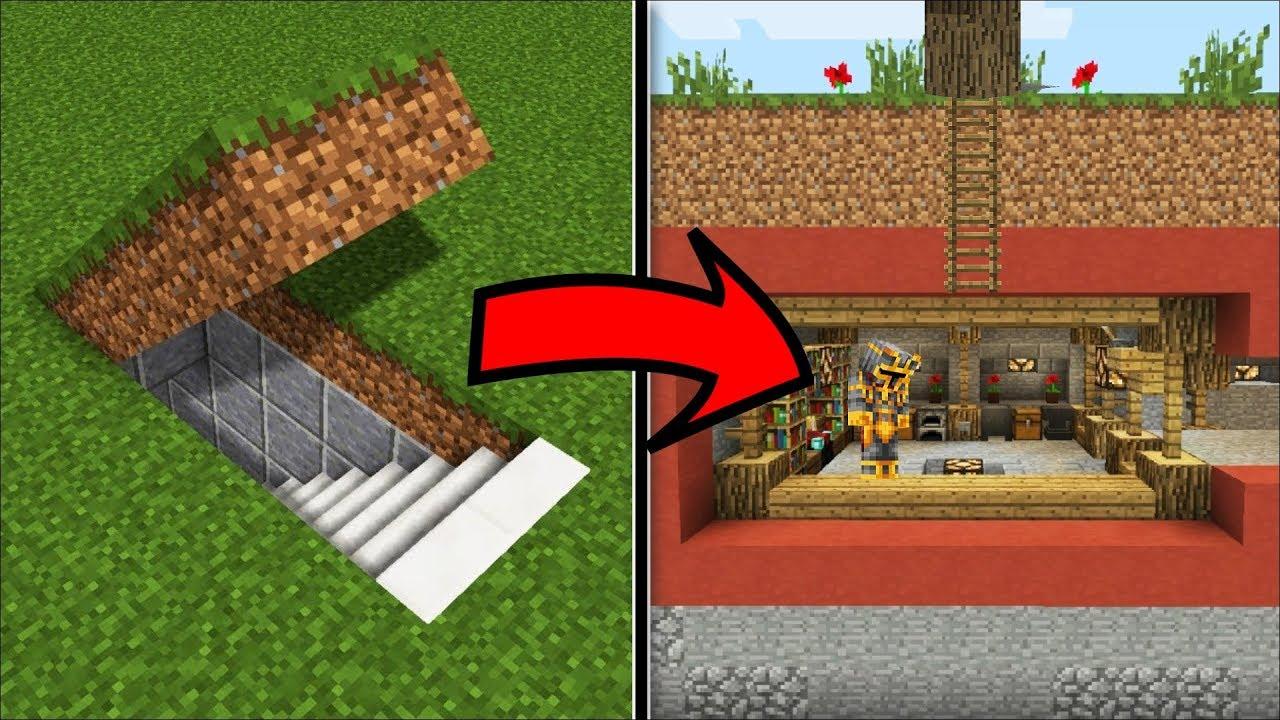 Minecraft Hidden Secret House Mod    Make This Hidden House A Lovely Home    Minecraft Mods