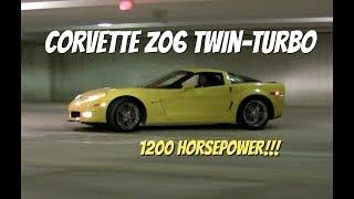 "Corvette C6 Z06 Twin-Turbo - ""Chris Drives Cars"" Video Test Drive"