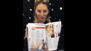 Güler Kahraman'dan Ant Media dergisine teşekkür...