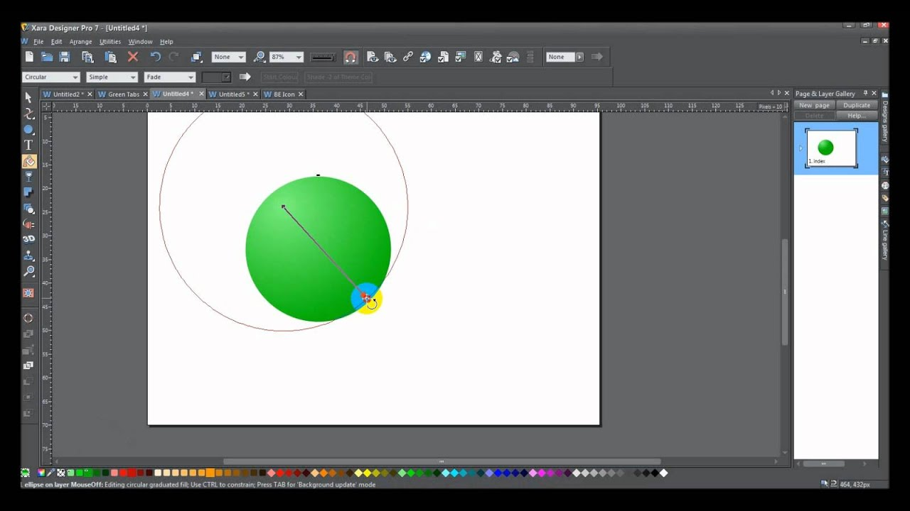 Xara Make 2d Objects Appear 3d Youtube