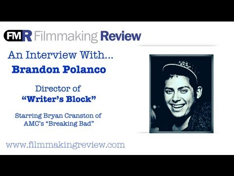 An Interview With...Brandon Polanco, Director of Writer's Block