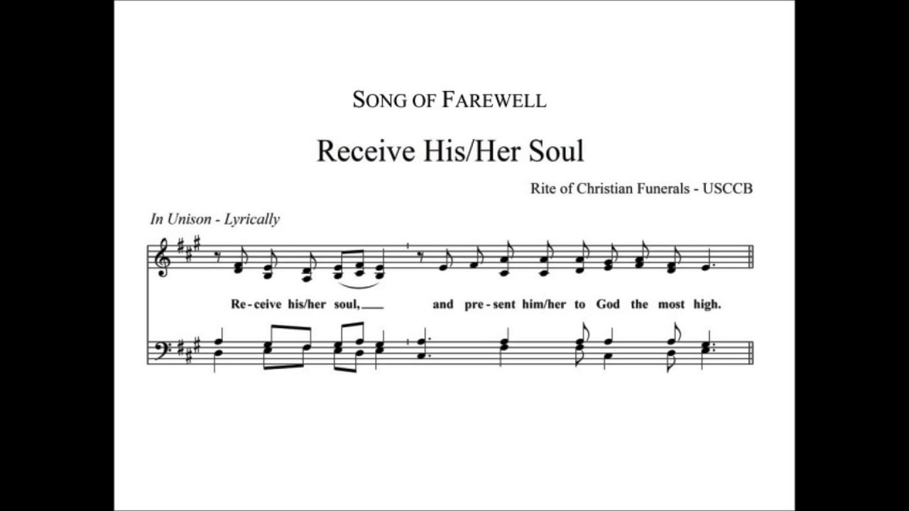 Funeral Farewell - Receive His/Her Soul - YouTube