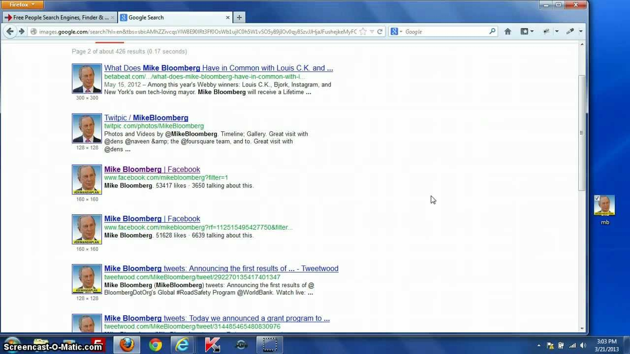 how to put information on google search