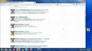 Finding Background Information On People Using Google Image Search