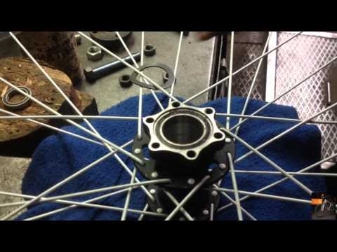 Горный велосипед ремонт - Замена пром подшипника во втулке, Самодельный съемник выжимка подшипников