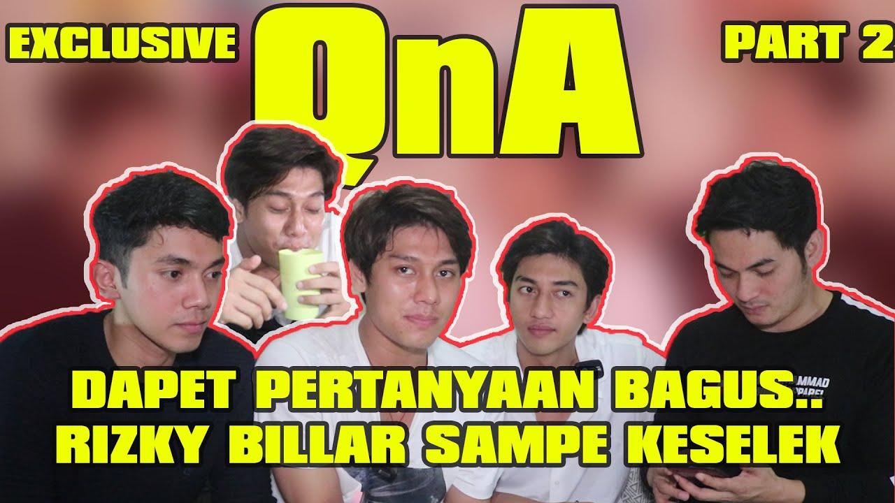 Download EXCLUSIVE!!! DAPET PERTANYAAN BAGUS,RIZKY BILLAR SAMPE KESELEK.....QnA Part 2