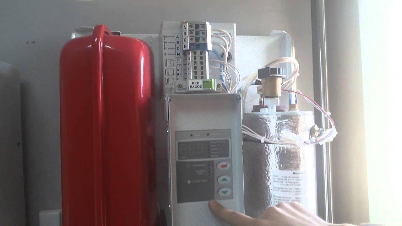 Электрический котел отопления Tenko Digital - YouTube